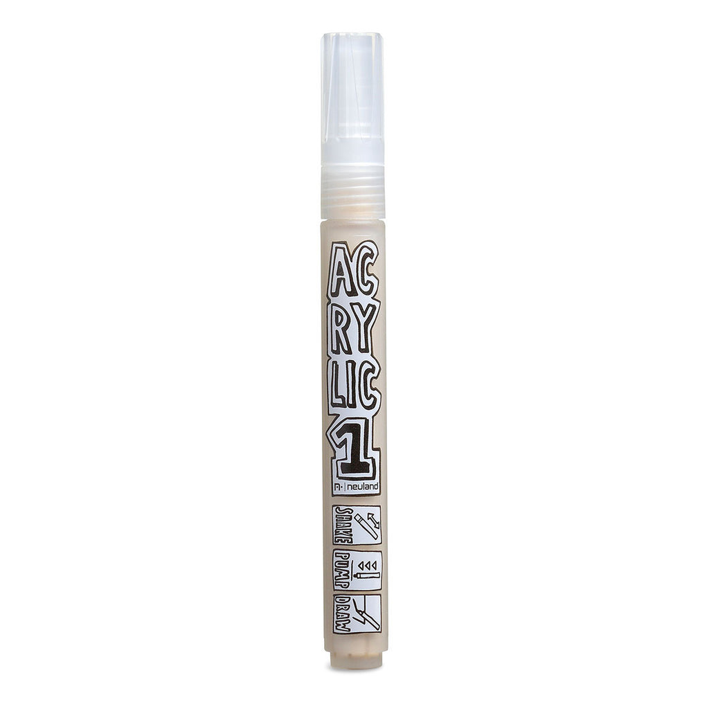 AcrylicOne MEDIUM, round nib 2.5 mm, AC 542 beige