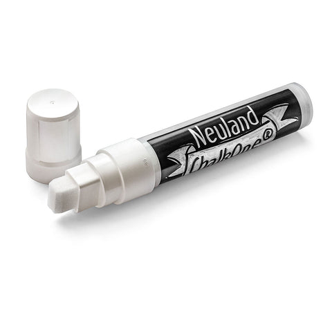 Neuland ChalkOne®, wedge nib 5-15 mm - White