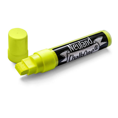 Neuland ChalkOne®, wedge nib 5-15 mm - Yellow