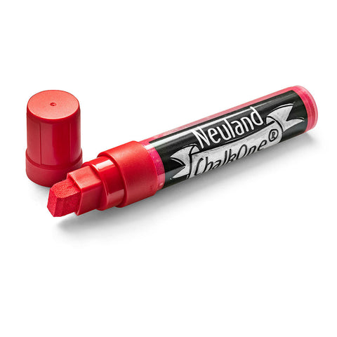 Neuland ChalkOne®, wedge nib 5-15 mm - Red