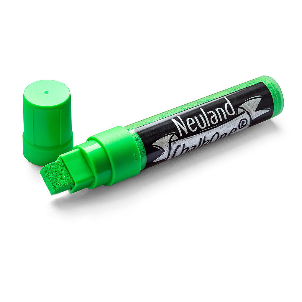 Neuland ChalkOne®, wedge nib 5-15 mm - Green