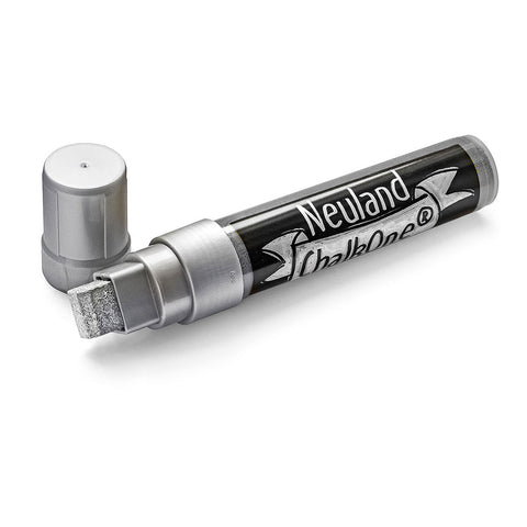 Neuland ChalkOne®, wedge nib 5-15 mm - Silver