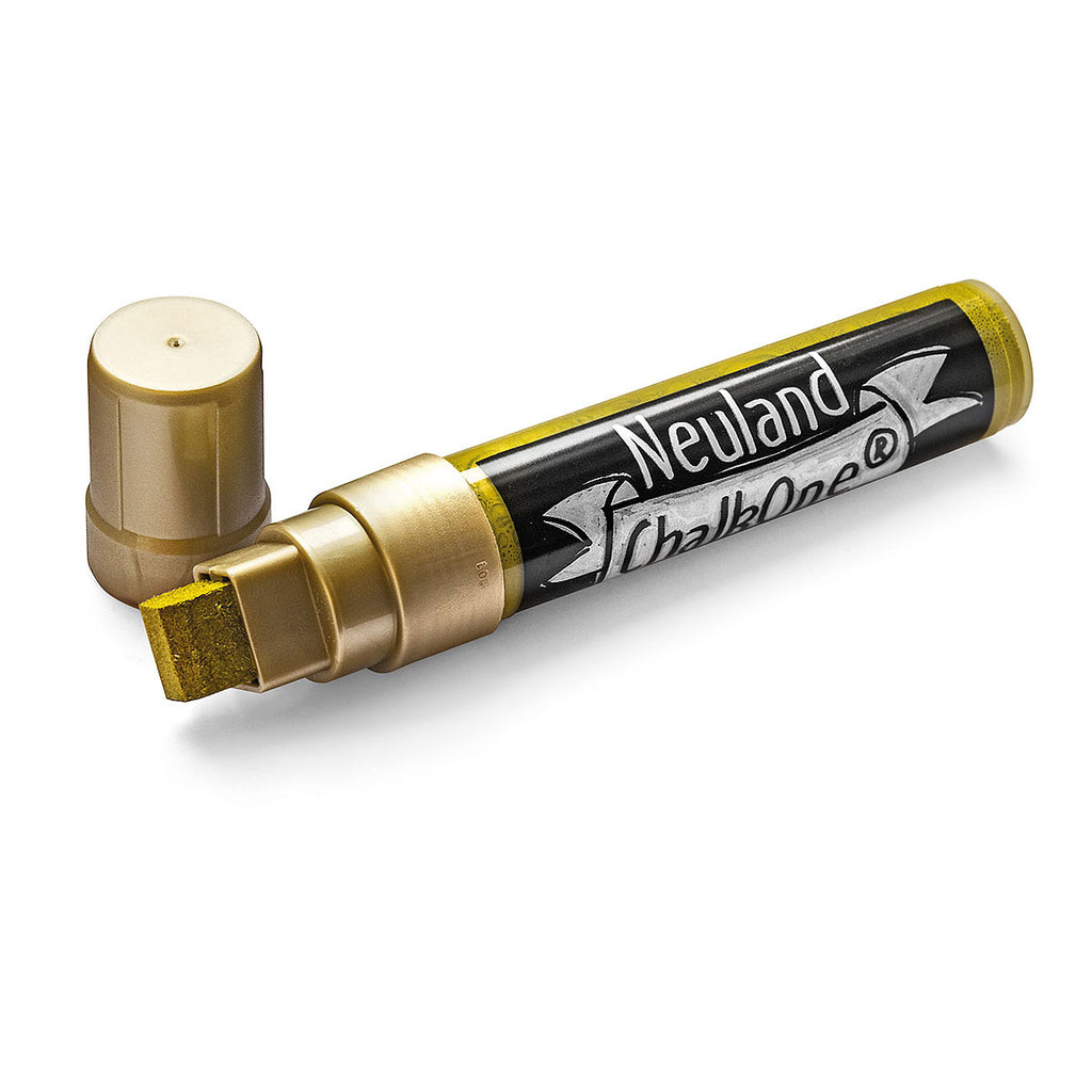 Neuland ChalkOne®, wedge nib 5-15 mm - Gold