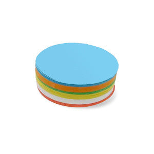 500 Pin-It Cards, large round, assorted