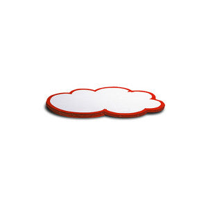 50 WorkshopClouds - small, white/red