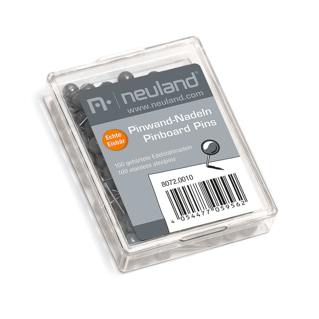 Pinboard Pins 6 mm, grey