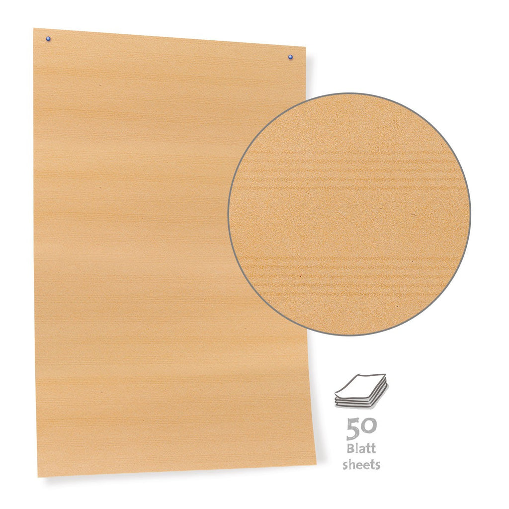 Pinboard Paper, 50 sheets, brown - 90 g/m2