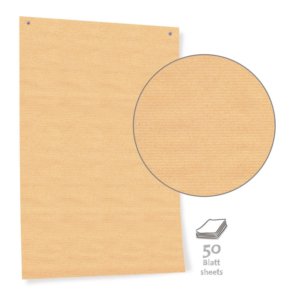 Pinboard Paper, 50 sheets, economy brown - 70g/m2