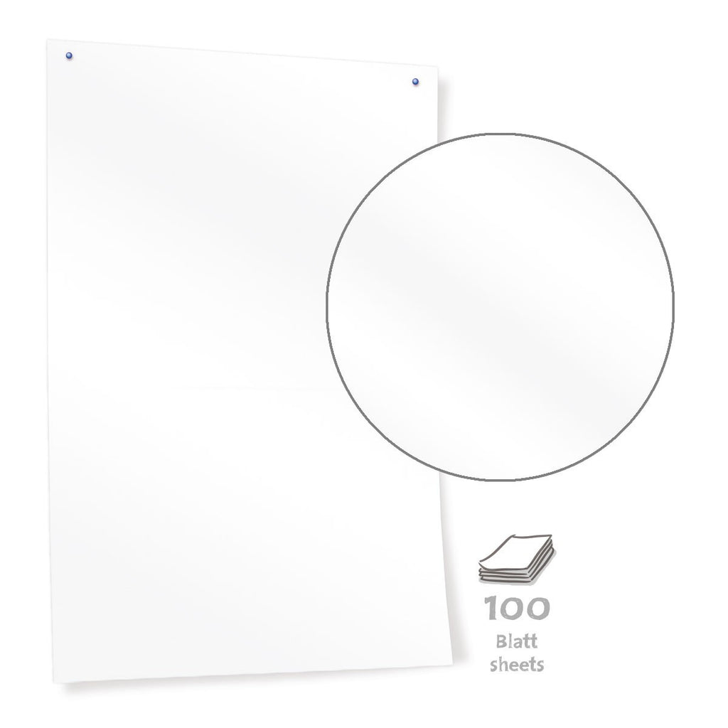 Pinboard Paper, 50 sheets, bright white - 80 g/m2