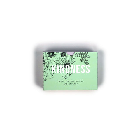 Kindness prompt cards - 60 prompt cards designed to help you find compassion and empathy.