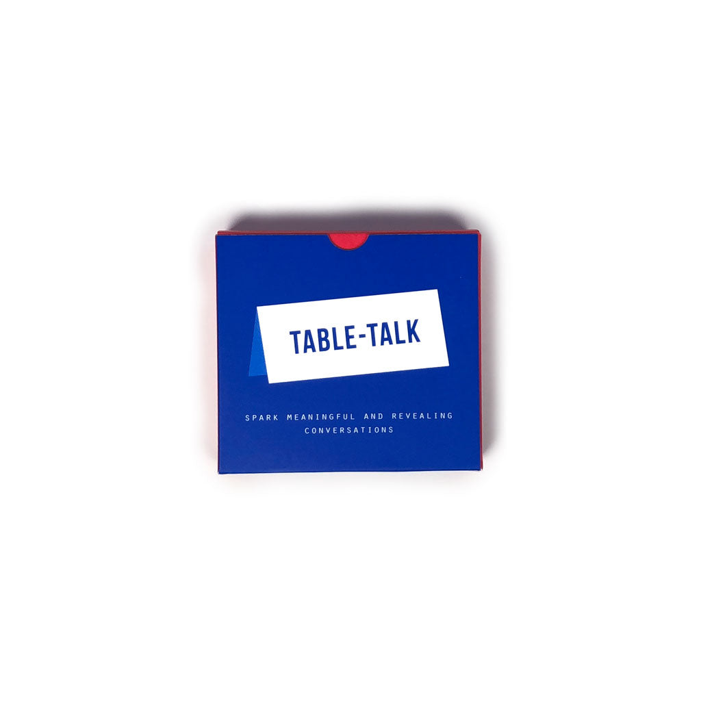 Table Talk Placecards - 40 Placecards with 80 Questions for Sparking Meaningful and Revealing Conversations Around the Table