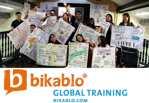 Visual Facilitation Training - 2 Day bikablo basics training in Singapore (3 & 4 July  2019) - No drawing skills required
