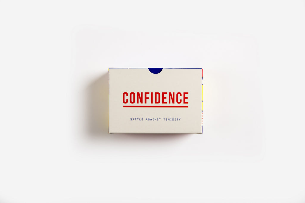 Confidence Prompt Cards - 60 prompt cards with ideas and questions to help us to find confidence and battle against timidity.