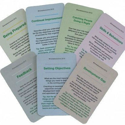 Successful Appraisal Coaching Cards