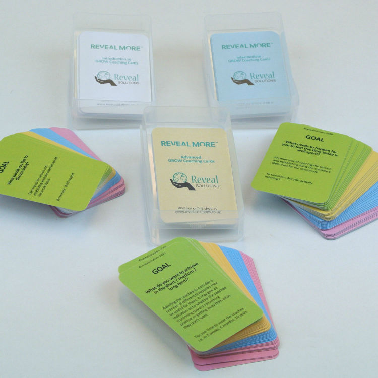 Bundle of 3 GROW Coaching Cards