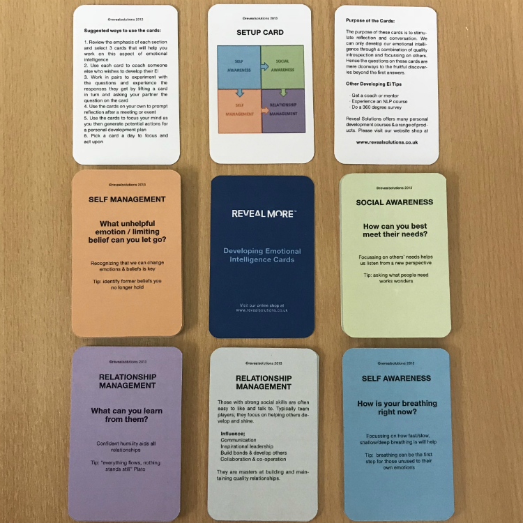 Developing Emotional Intelligence Coaching Cards