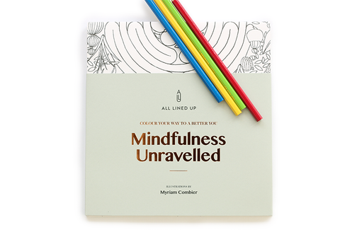 Mindfulness Unravelled, Colour your way to a better you