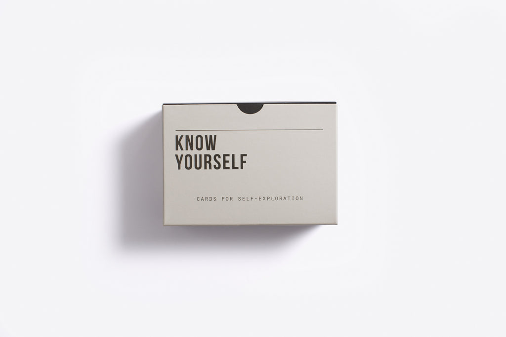 Know Yourself Prompt Cards  60 prompt cards designed to help lead you through the important task of knowing yourself a little better in life.