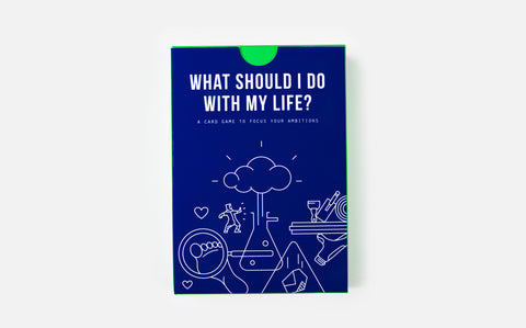 What Should I do With my Life? A simple card game which helps to illuminate the many options we have when trying to decide: 'What should I do with my life?'.