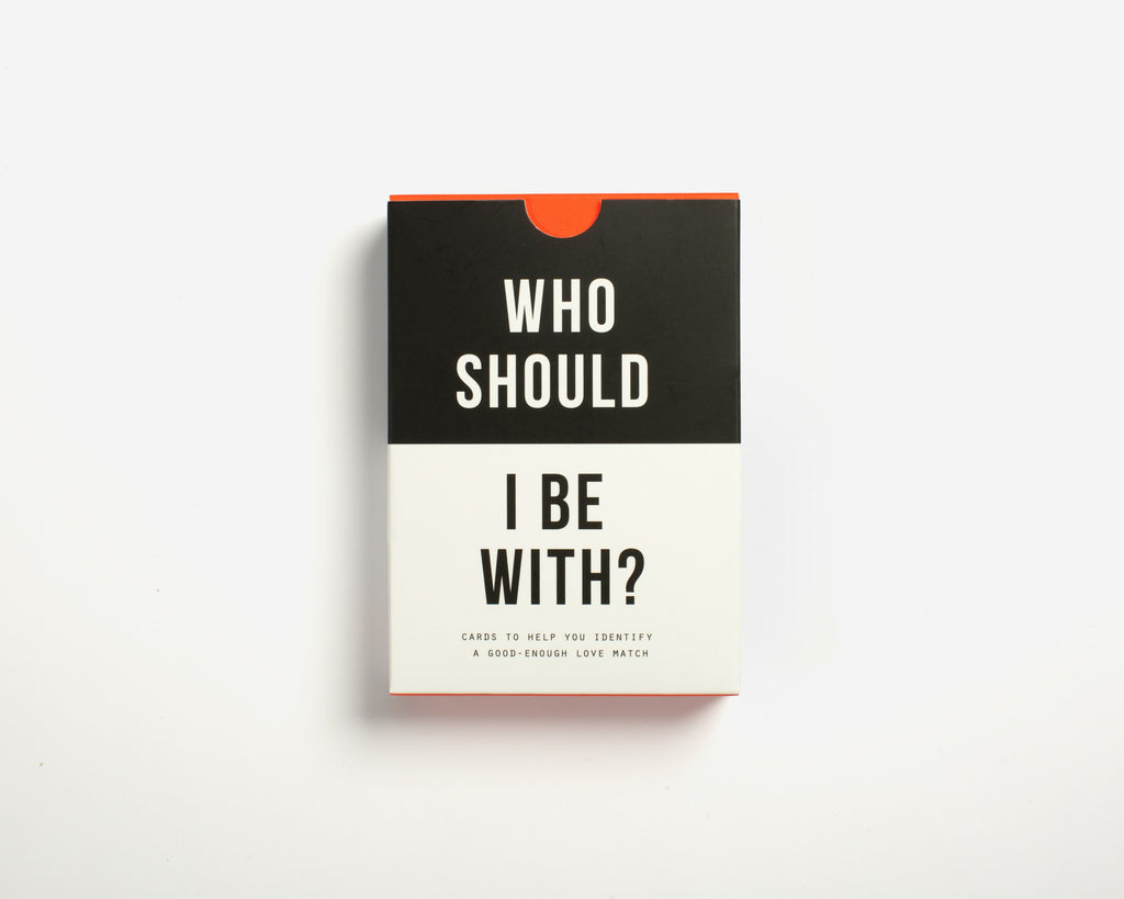 Who Should I be With? A set of cards that helps answer that essential question: 'who should I spend my life with?'