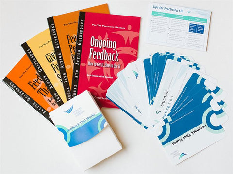 CCL - Feedback that works: Coaching with conversations & Introductory guidebook package