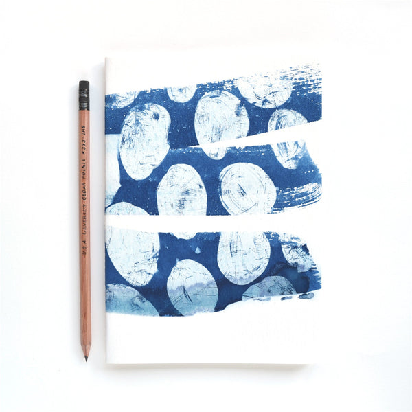 The Blue Because Cyanotype Notebook