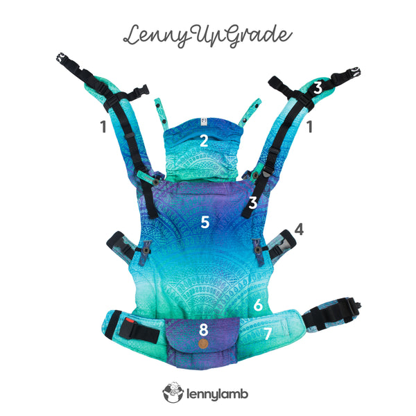LennyUpGrade Adjustable baby carrier Singapore
