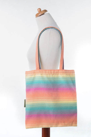 OceanoKidz.com - LennyLamb Shopping Bag - Little Herringbone Imagination
