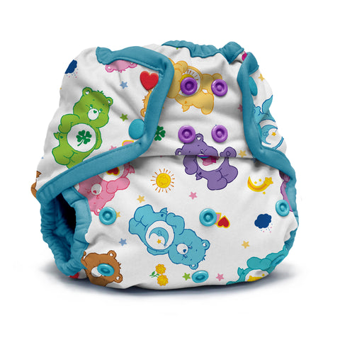 Kanga Care x Care Bears - Rumparooz SNAP Cloth Diaper Cover (One Size) - Care-a-lot *Limited Edition*