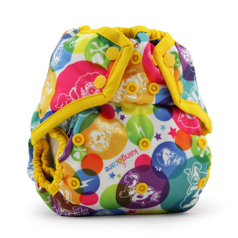 Kanga Care x tokidoki - Rumparooz SNAP Cloth Diaper Cover (One Size) - tokiCorno - Dandelion *Limited Edition*