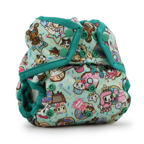 OceanoKidz.com - Kanga Care x tokidoki - Rumparooz SNAP Cloth Diaper Cover (One Size) - tokiTreats - Peacock