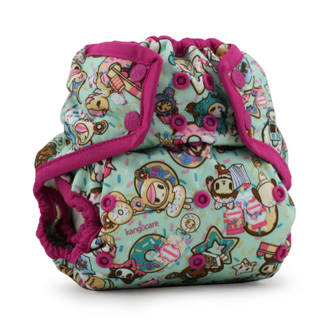 OceanoKidz.com - Kanga Care x tokidoki - Rumparooz SNAP Cloth Diaper Cover (One Size) - tokiTreats - Sherbert
