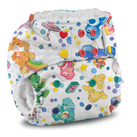 OceanoKidz.com - Kanga Care x Care Bears :: Birthday Party - Rumparooz G2 SNAP Cloth Diaper *Limited Edition*