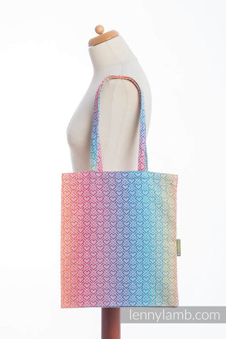 OceanoKidz.com - LennyLamb Shopping Bag - Big Love - Rainbow