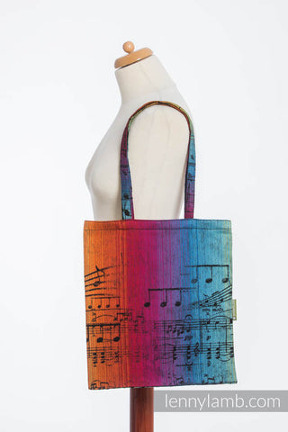 OceanoKidz.com - LennyLamb Shopping Bag - Symphony Rainbow Dark