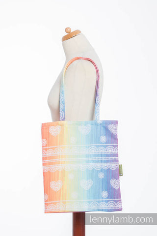OceanoKidz.com - LennyLamb Shopping Bag - Rainbow Lace