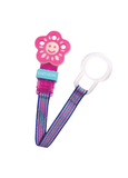 OceanoKidz.com - Baby Nova Pacifier Holder Flower in Pink