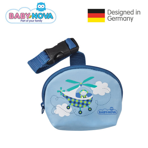 Baby Nova Pacifier Bag - Helicopter
