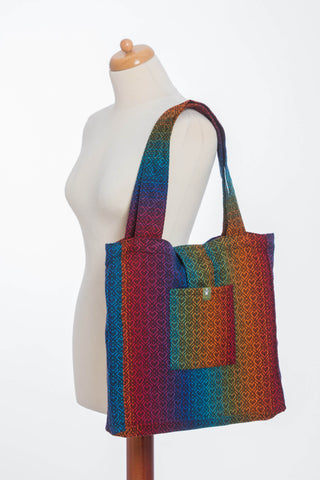 LennyLamb Shoulder Bag (37cm x 37cm) - Big Love - Rainbow Dark