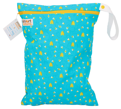 Smart Bottoms On the Go Wet Bags - Bees
