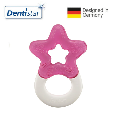 Dentistar Tooth-friendly Cooling Teether (3+ months) - Pink