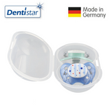 OceanoKidz.com - Dentistar Tooth-friendly Night Pacifier Size 2 (set of 2) with Sterilization Box - Star & Transparent Moon