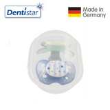 OceanoKidz.com - Dentistar Tooth-friendly Night Pacifier Size 2 (set of 2) with Sterilization Box - Rocket & Lion