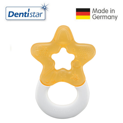 OceanoKidz.com - Dentistar Tooth-friendly Cooling Teether (3+ months) - Orange