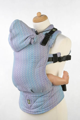 OceanoKidz.com - LennyLamb Ergonomic Carrier - Little Love Zephyr (Jacquard Weave 100% Cotton)