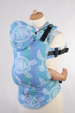OceanoKidz.com - LennyLamb Ergonomic Carrier - Sea Adventure Light (Jacquard Weave 100% Cotton)