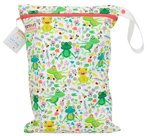 Smart Bottoms On the Go Wet Bags - Happy Frogs