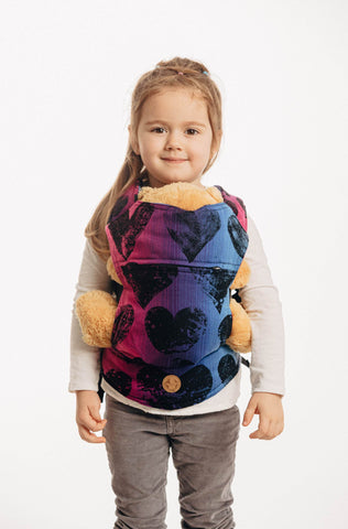 LennyLamb Doll Carrier - Lovka Pinky Violet (100% Cotton)