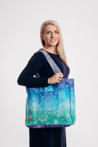 OceanoKidz.com - LennyLamb Shoulder Bag (37cm x 37cm) - SNOW QUEEN - CRYSTAL