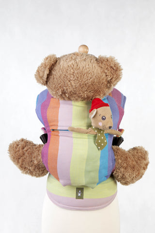 OceanoKidz.com - LennyLamb Doll Carrier - Coral Reef (100% Cotton)